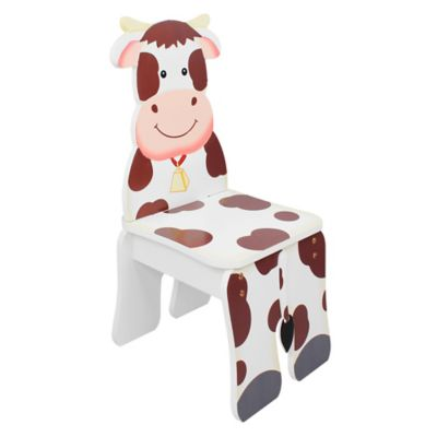 Teamson Fantasy Fields Happy Farm Kids Cow Chair