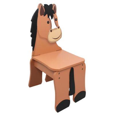 Teamson Fantasy Fields Happy Farm Kids Horse Chair