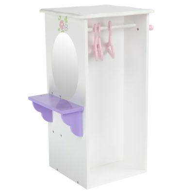 Olivia's Little World Little Princess Doll Furniture 18-Inch Dresser with Hangers