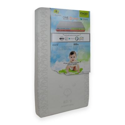 KidiComfort™ Organic Cotton Natural Touch 2-in-1 Crib Mattress