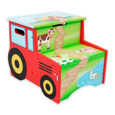 Fantasy Fields Happy Farm Kids Step Stool
