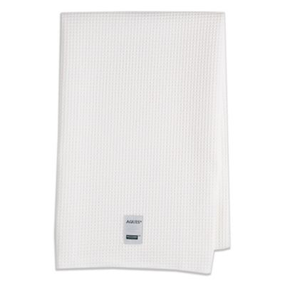 Aquis® Waffle Weave Hair Towel in White