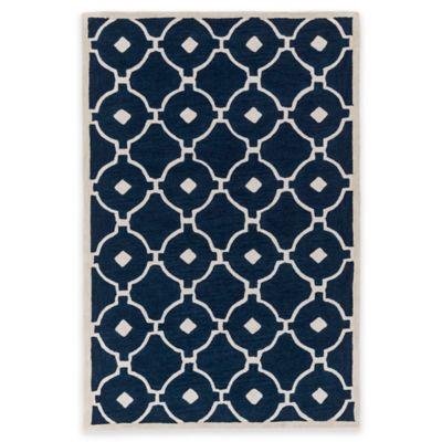 Artistic Weavers Holden Hazel 5-Foot x 7-Foot 6-Inch Area Rug in Navy/Ivory