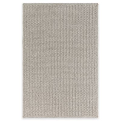 Style Statements by Surya Caswell 4-Foot x 6-Foot Indoor/Outdoor Area Rug in Light Grey