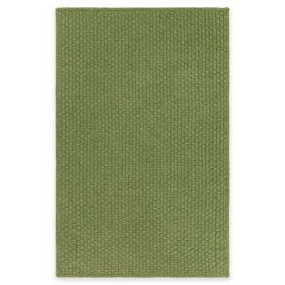 Style Statements by Surya Caswell 4-Foot x 6-Foot Indoor/Outdoor Area Rug in Green