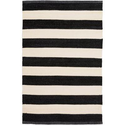 5 Black & White Area Rug