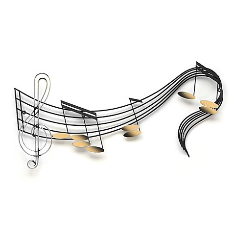'Rhapsody' Metal Wall Art by Artisan House