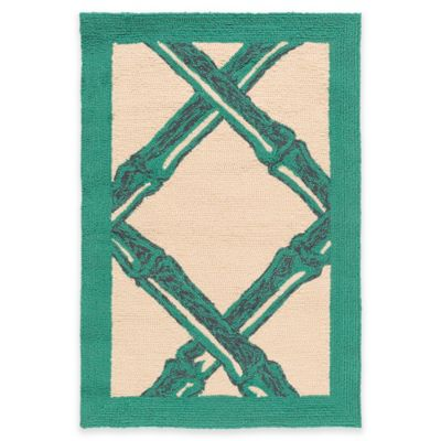 Style Statements by Surya Cottonwood Peak 9-Foot x 12-Foot Indoor/Outdoor Area Rug in Green