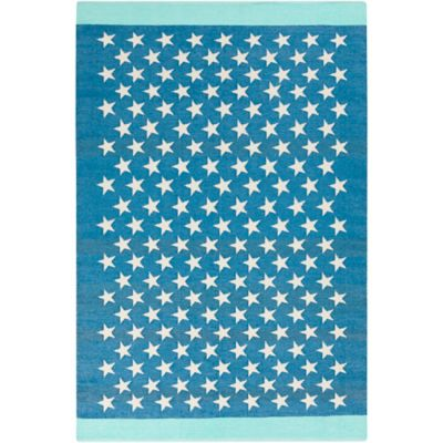 Style Statements by Surya Cressida 2-Foot x 3-Foot Indoor/Outdoor Accent Rug in Teal