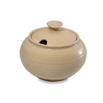 Sophie Conran for Portmeirion® Covered Sugar Bowl in Biscuit