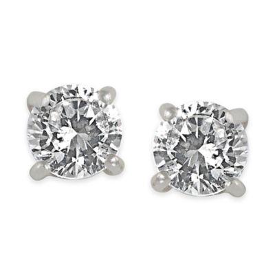 Carolee New York Wendy Small Cubic Zirconia Stud Earrings
