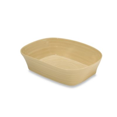 Sophie Conran for Portmeirion® Biscuit 11 1/2-Inch x 9 1/4-Inch Square Roaster