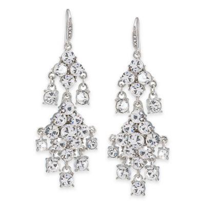 Carolee New York Broadway Lights Chandelier Pierced Earrings