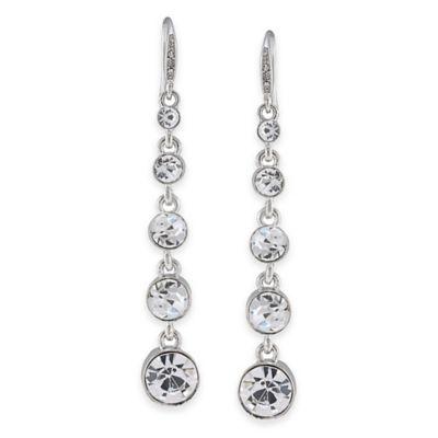Carolee New York Broadway Lights Linear Pierced Earrings