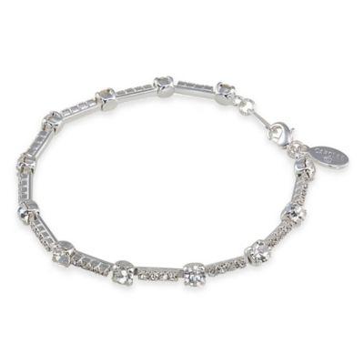 Carolee New York Allison Crystal Chain Bracelet
