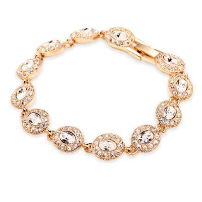 Carolee New York Cecilia Oval Crystal Bracelet
