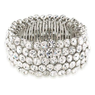 Carolee New York Broadway Lights Stretch Bracelet