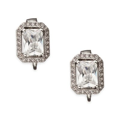 Carolee New York Bryne Button Clip-On Earrings