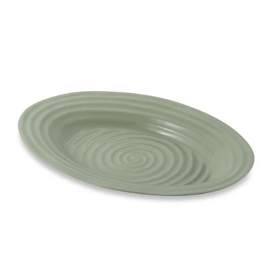 Portmeirion Platter in Sage Better Casual Dinnerware