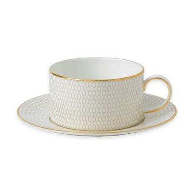 Wedgwood® Arris Teacup and Saucer