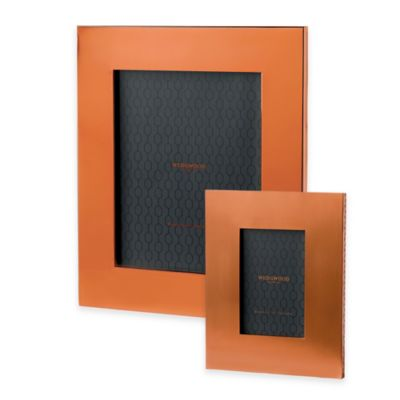 Wedgwood® Arris 4-Inch x 6-Inch Picture Frame in Copper