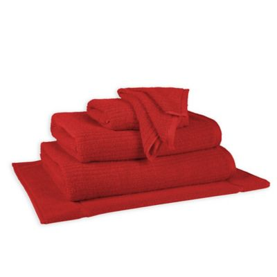 Dri Soft Back to College Bath Sheet in Red