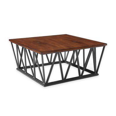 Crosley Travis Coffee Table in Mahogany