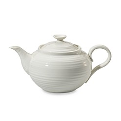 Teapot In White by Sophie Conran For Portmeirion