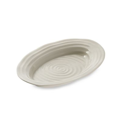 Sophie Conran for Portmeirion® 12 1/2-Inch x 8 1/2-Inch Small White Platter