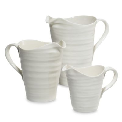 Sophie Conran for Portmeirion® Medium Pitcher in White