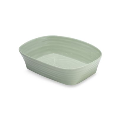 Sophie Conran for Portmeirion® Sage 11 1/2-Inch x 9 1/4-Inch Square Roaster