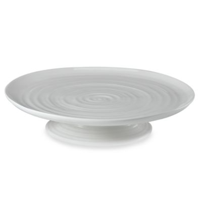 Sophie Conran for Portmeirion® White Cake Plate in 12 1/4-Inch x 2 1/2-Inch