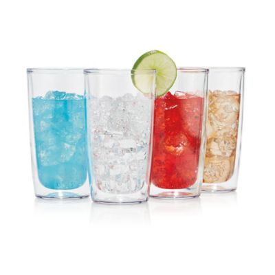 Tervis Set of 4 16-Ounce Clear Tumbler