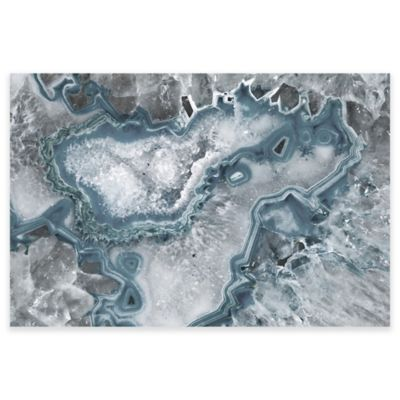 Marmont Hill Icy Layers 60-Inch x 40-Inch Canvas Wall Art