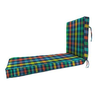 80-Inch x 23-Inch Chaise Lounge Cushion in Sunbrella® Connect Cosmic