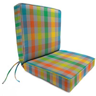 44-Inch x 22-Inch Dining Chair Cushion in Sunbrella® Connect Fusion