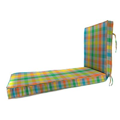 80-Inch x 23-Inch Chaise Lounge Cushion in Sunbrella® Connect Fusion