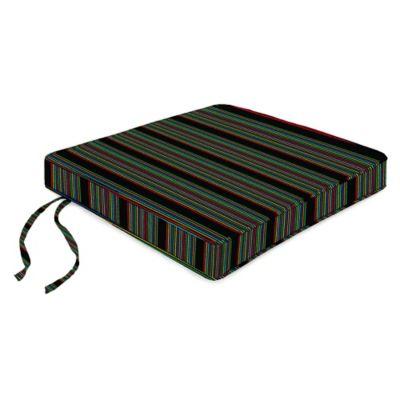 18-Inch Boxed Edge Seat Cushion in Sunbrella® HiFi Glow