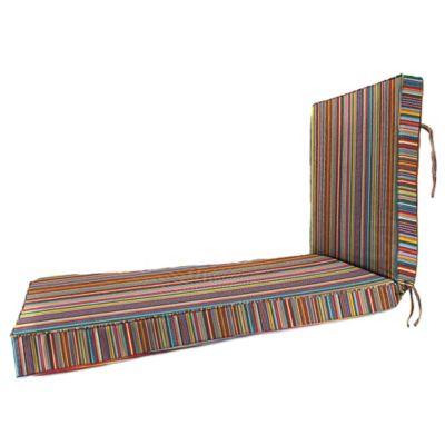 80-Inch x 23-Inch Chaise Lounge Cushion in Sunbrella® Mode Seaside