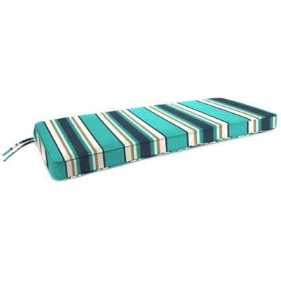 18-Inch x 48-Inch 2-Person Bench Cushion in Sunbrella® Token Surfside