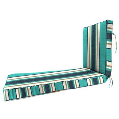 80-Inch x 23-Inch Chaise Lounge Cushion in Sunbrella® Token Surfside