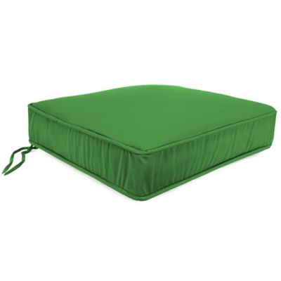 18-Inch x 20.5-Inch Trapezoid Chair Cushion in Sunbrella® Volt Emerald