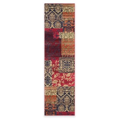 Safavieh Monaco Lola 2-Foot 2-Inch x 8-Foot Multicolor Runner
