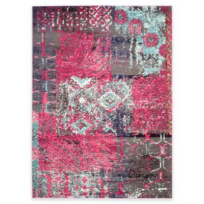 Safavieh Monaco Lena 8-Foot x 11-Foot Area Rug in Pink Multi