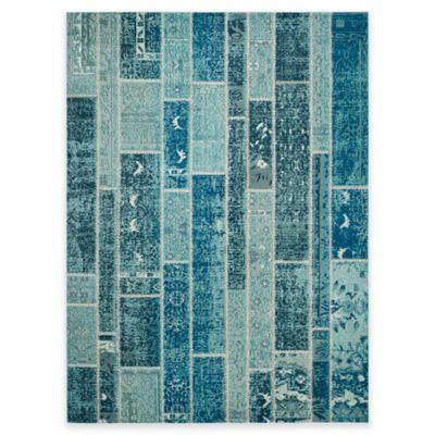 Safavieh Monaco Planks 8-Foot x 11-Foot Area Rug in Blue Multi