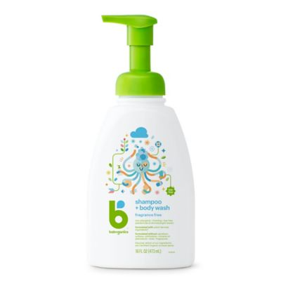 Babyganics® 16 oz. Foaming Shampoo + Body Wash Fragrance-Free