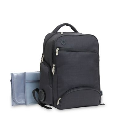 Baby Boom XLR8 Connect and Go Backpack Diaper Bag in Black