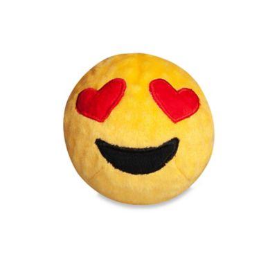fabdog® Fabmoji Hearts Emoji Faball Small Dog Toy