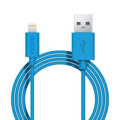Incipio® Apple Lightning™ 3-Foot Connector Cable in Cyan