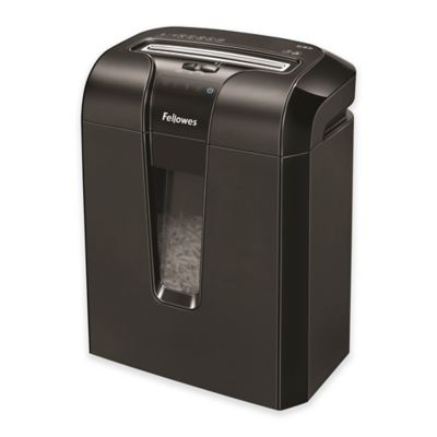Fellowes® PowerShred® 63CB 10-Sheet Cross-Cut Shredder
